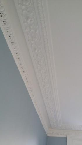 Painted in Farrow and Ball All White and Farrow and Ball Parma Grey